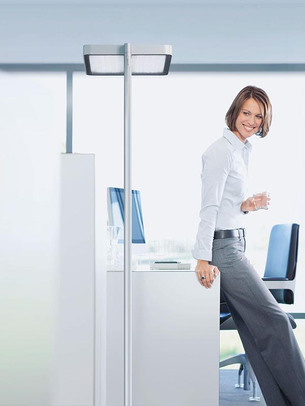 Ofis Aydınlatması - Ayaklı Masa Aydınlatması